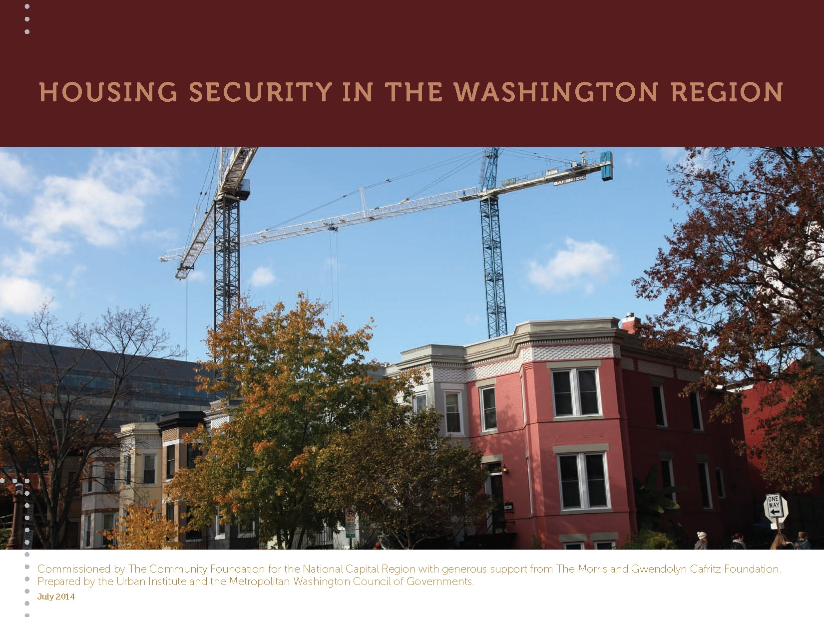 Housing Security in the Washington Region (Full Report)