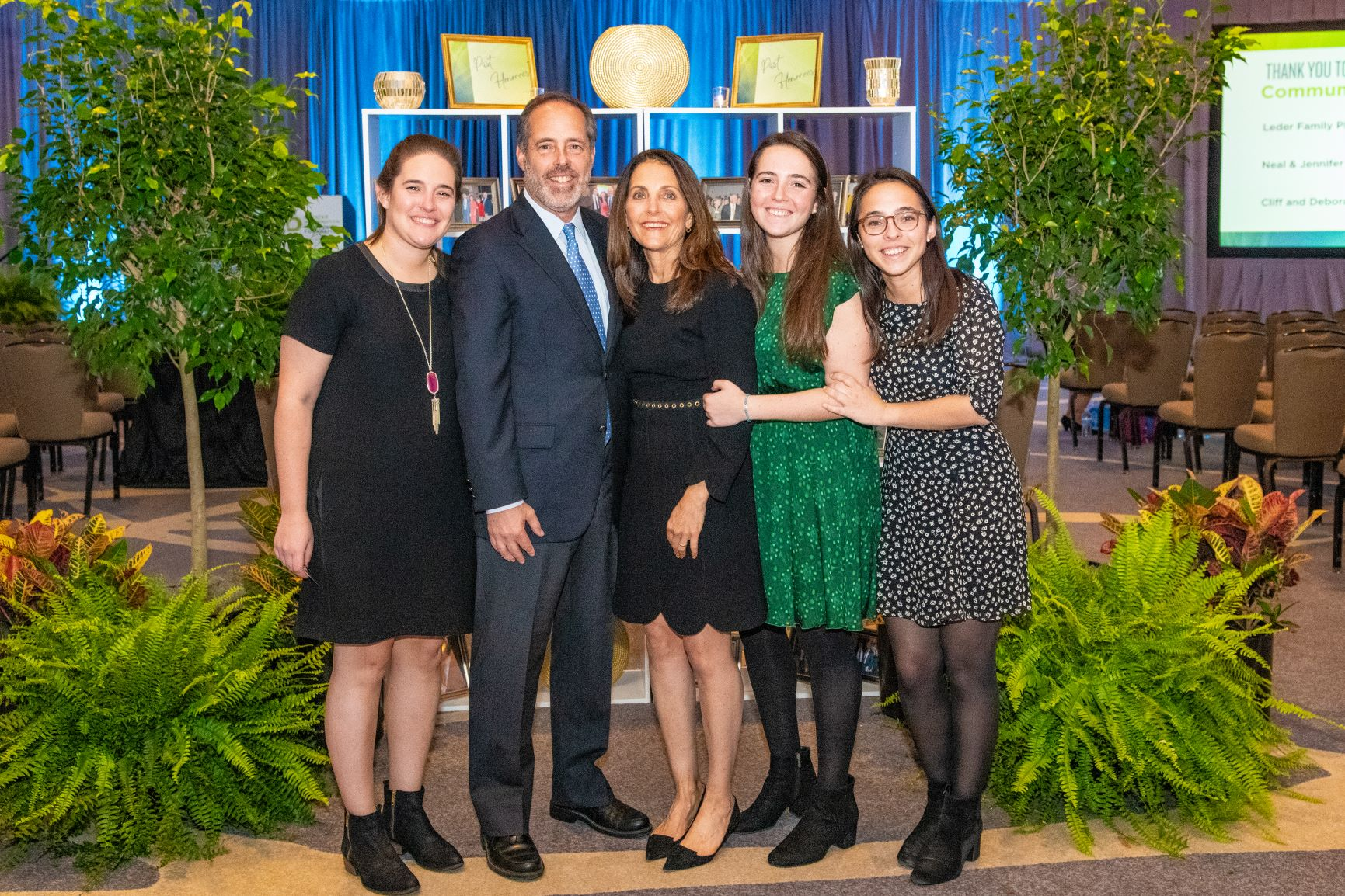 - Our 2018 Montgomery County Philanthropist of the Year, Linda Youngentob, and her family at the Celebration of Giving on November 1, 2018.