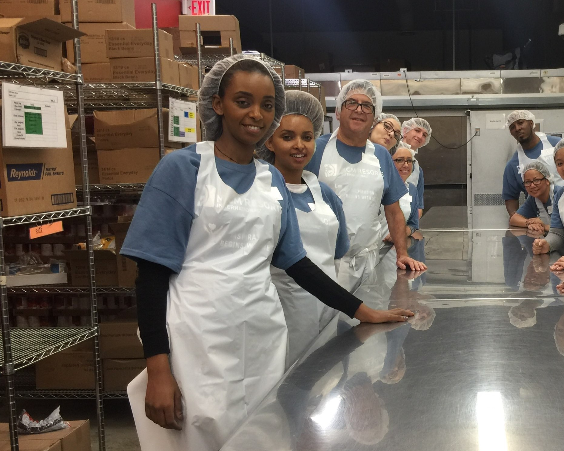 MGM National Harbor employees volunteer at local nonprofit Food & Friends.