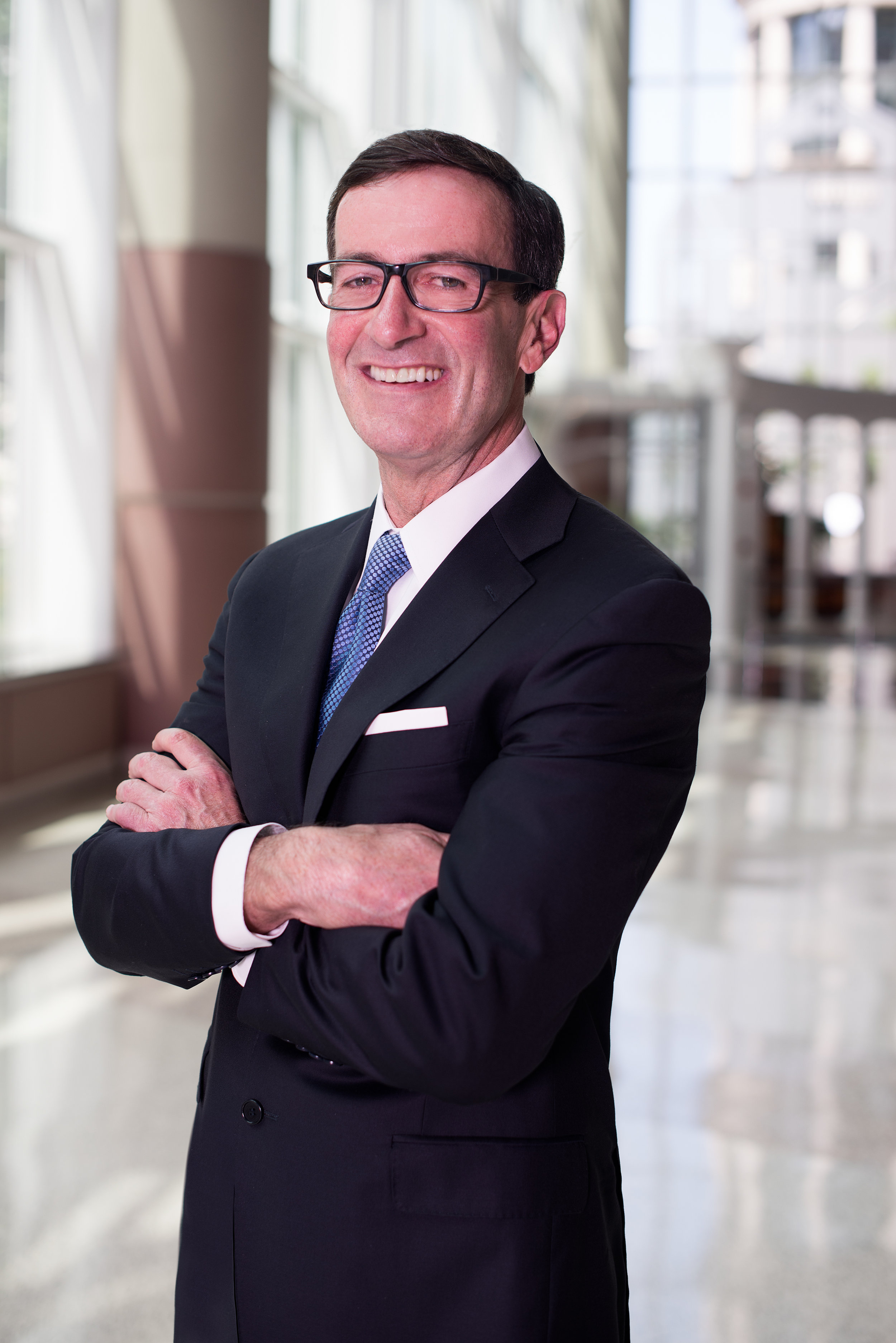 President and CEO Bruce McNamer.