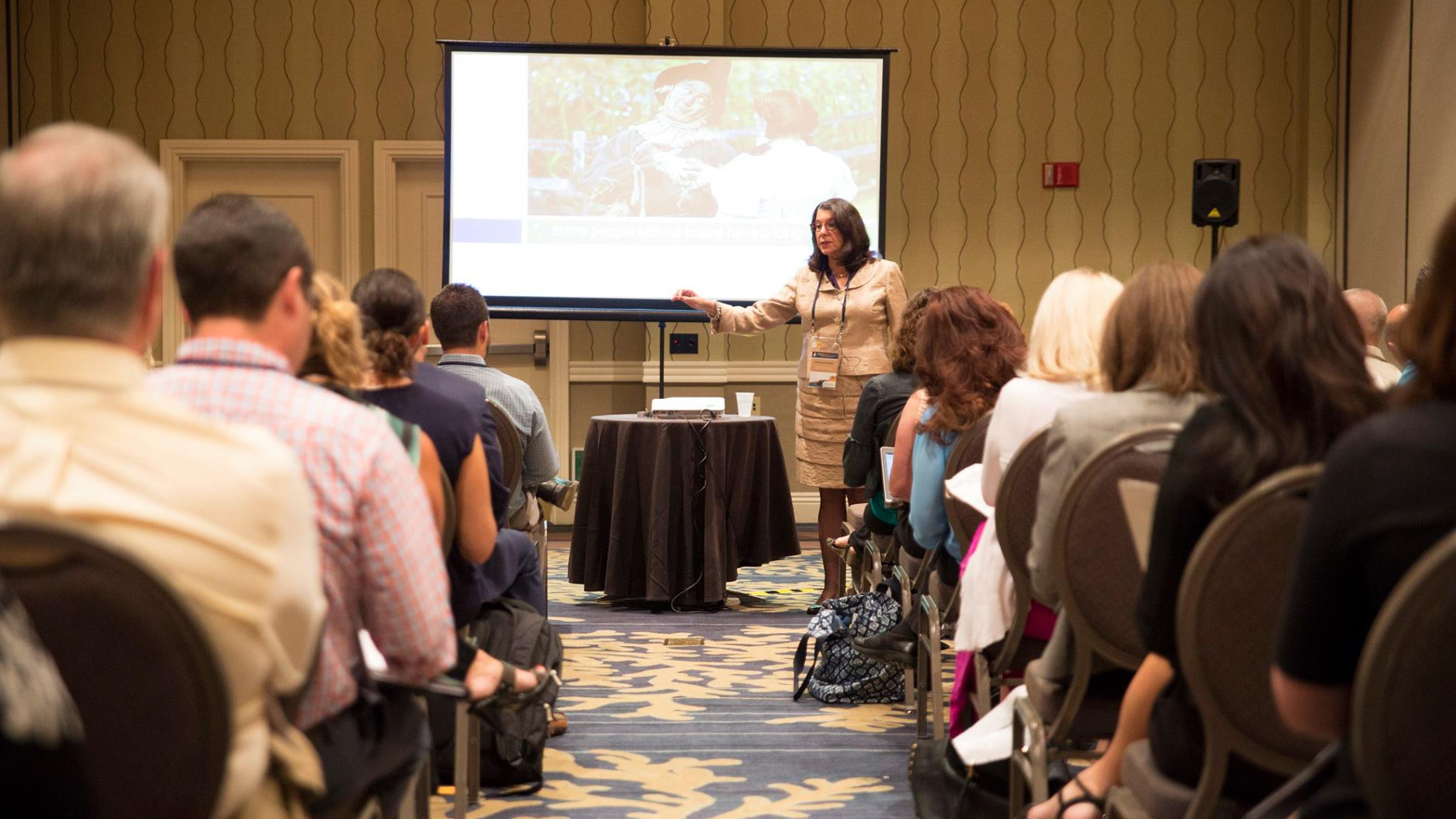 Rebecca Rothey, CFRE, CAP®, AEP®, gave an engaging presentation on Working with Professional Advisors to a packed room at the annual Practical Planned Giving Conference.