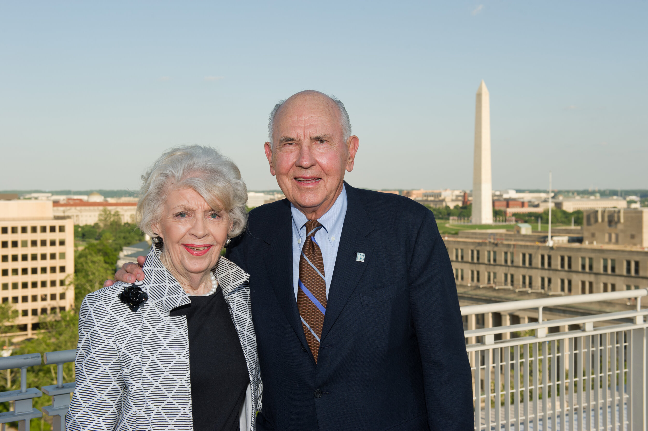 Photo of Mr. and Mrs. Clark courtesy of the Clark Foundation.