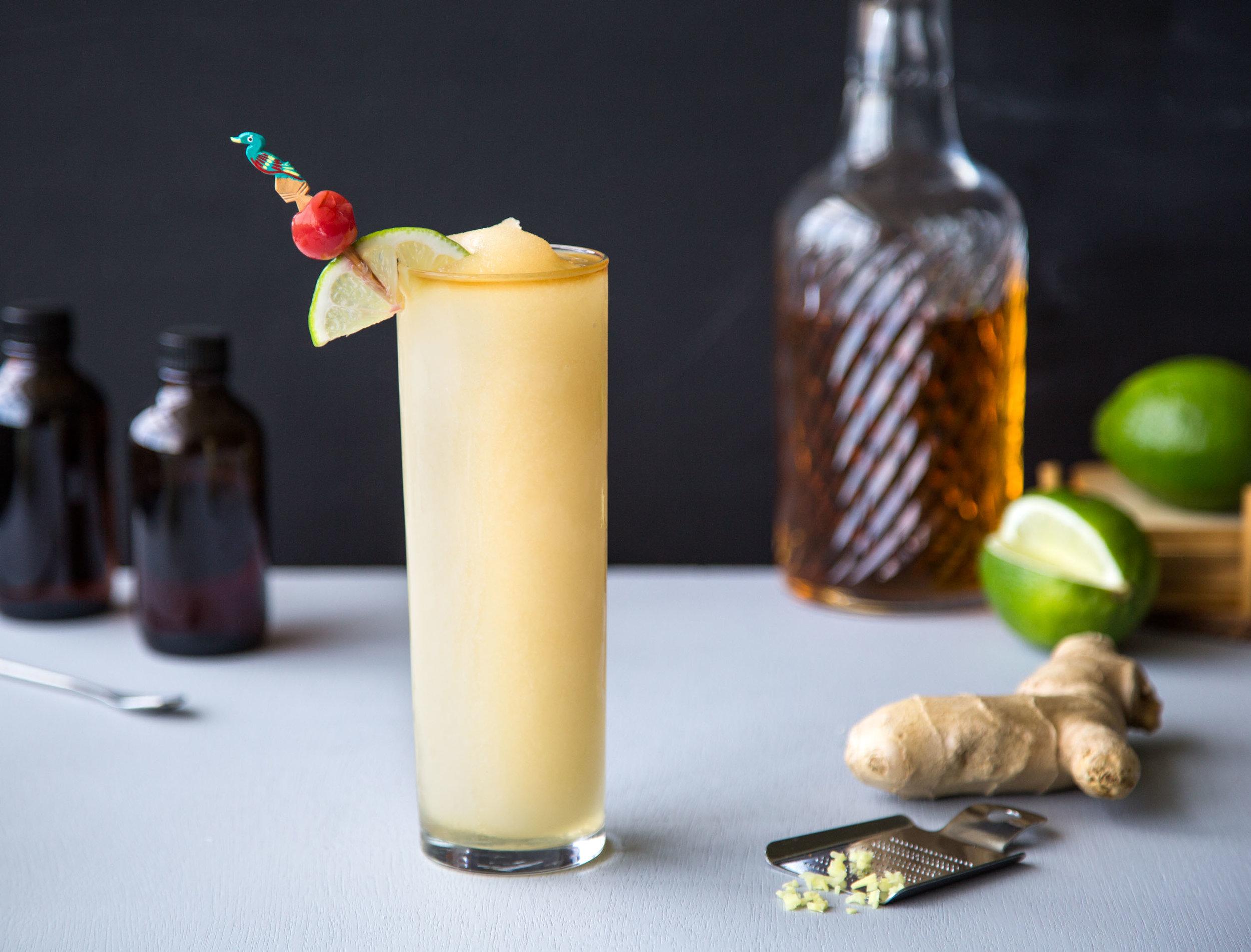 Dark 'N STORMY® - Kelvin Ginger Slush Mix,Gosling's Black Seal Rum