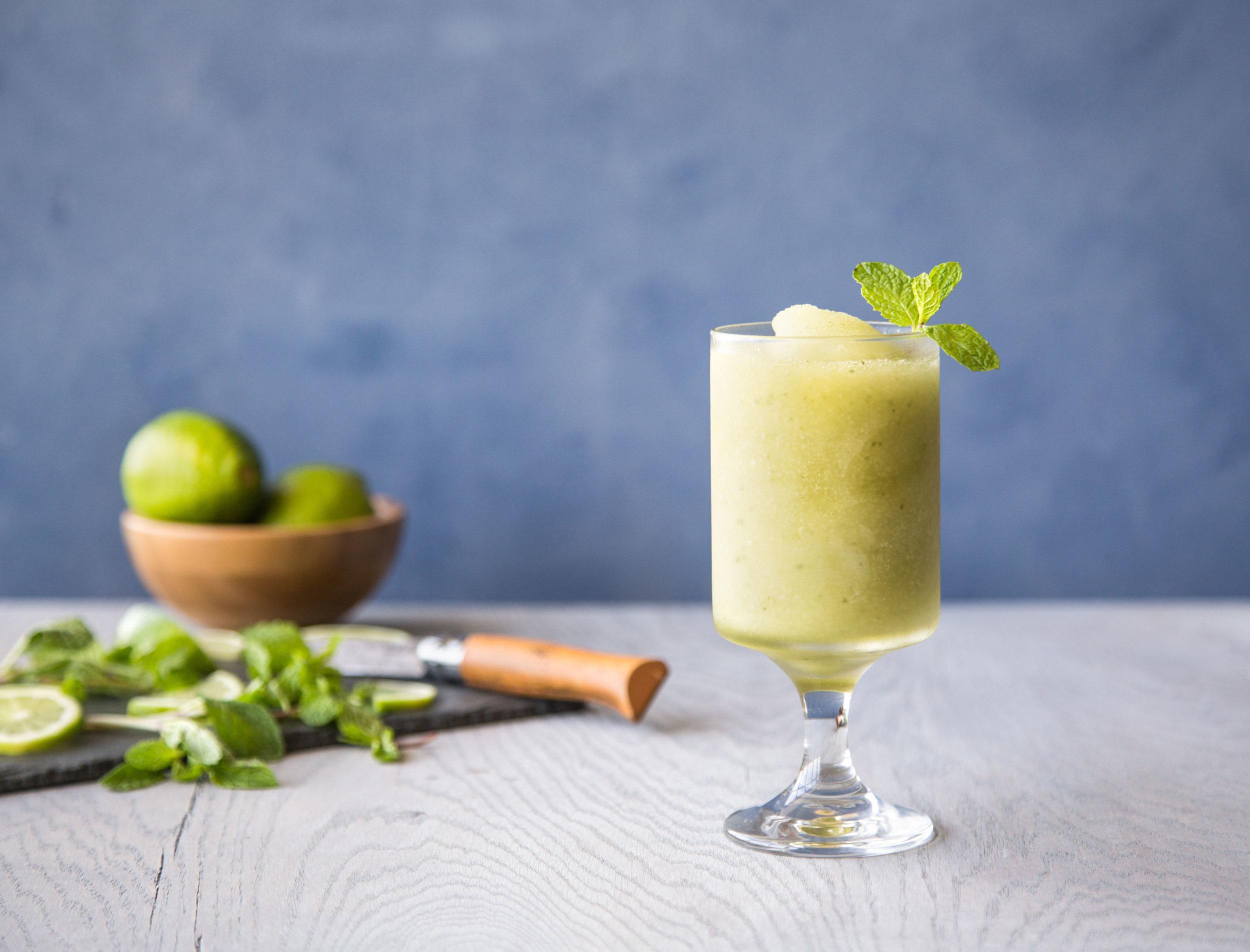 mojito - Kelvin Margarita Slush Mix,Rum, Mint
