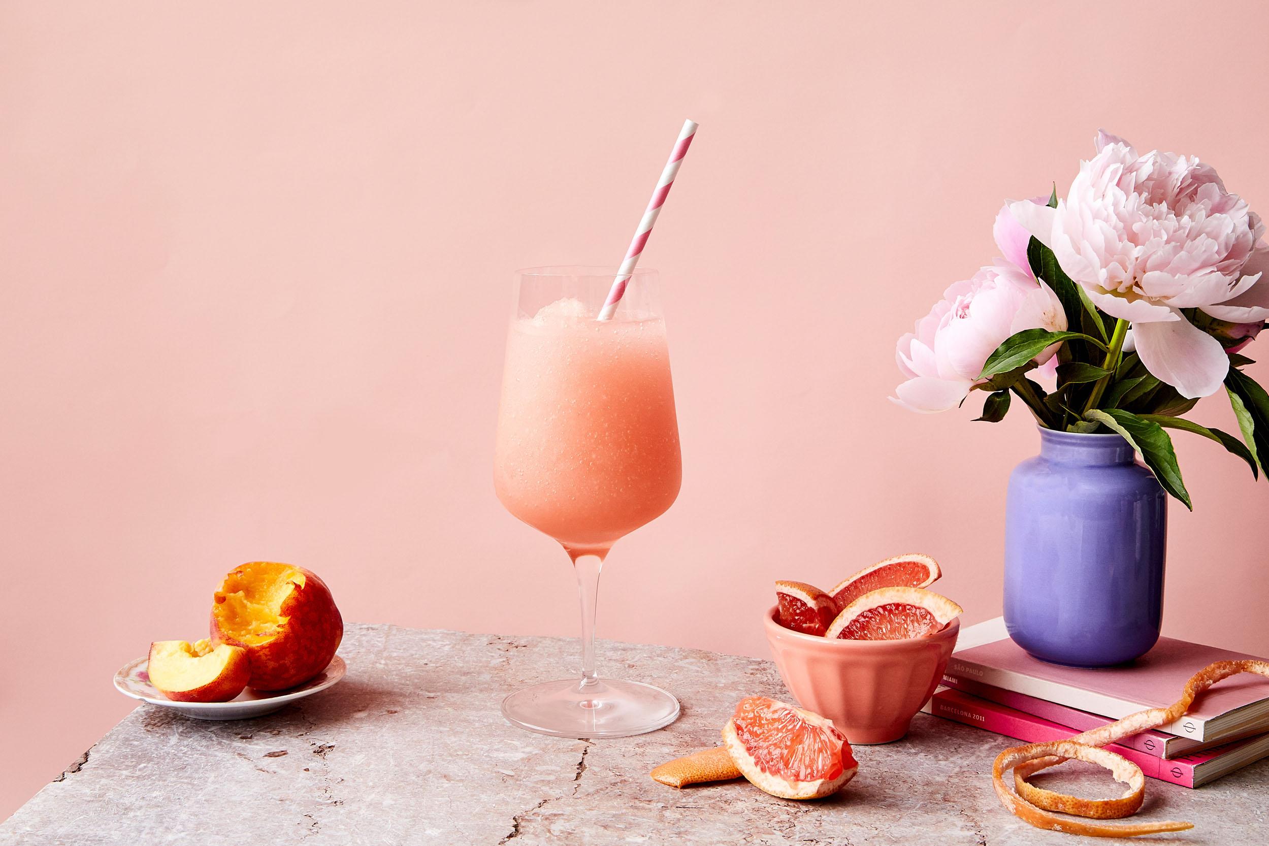 Frosé - Kelvin Frosé Slush Mix,Rosé Wine, Vodka