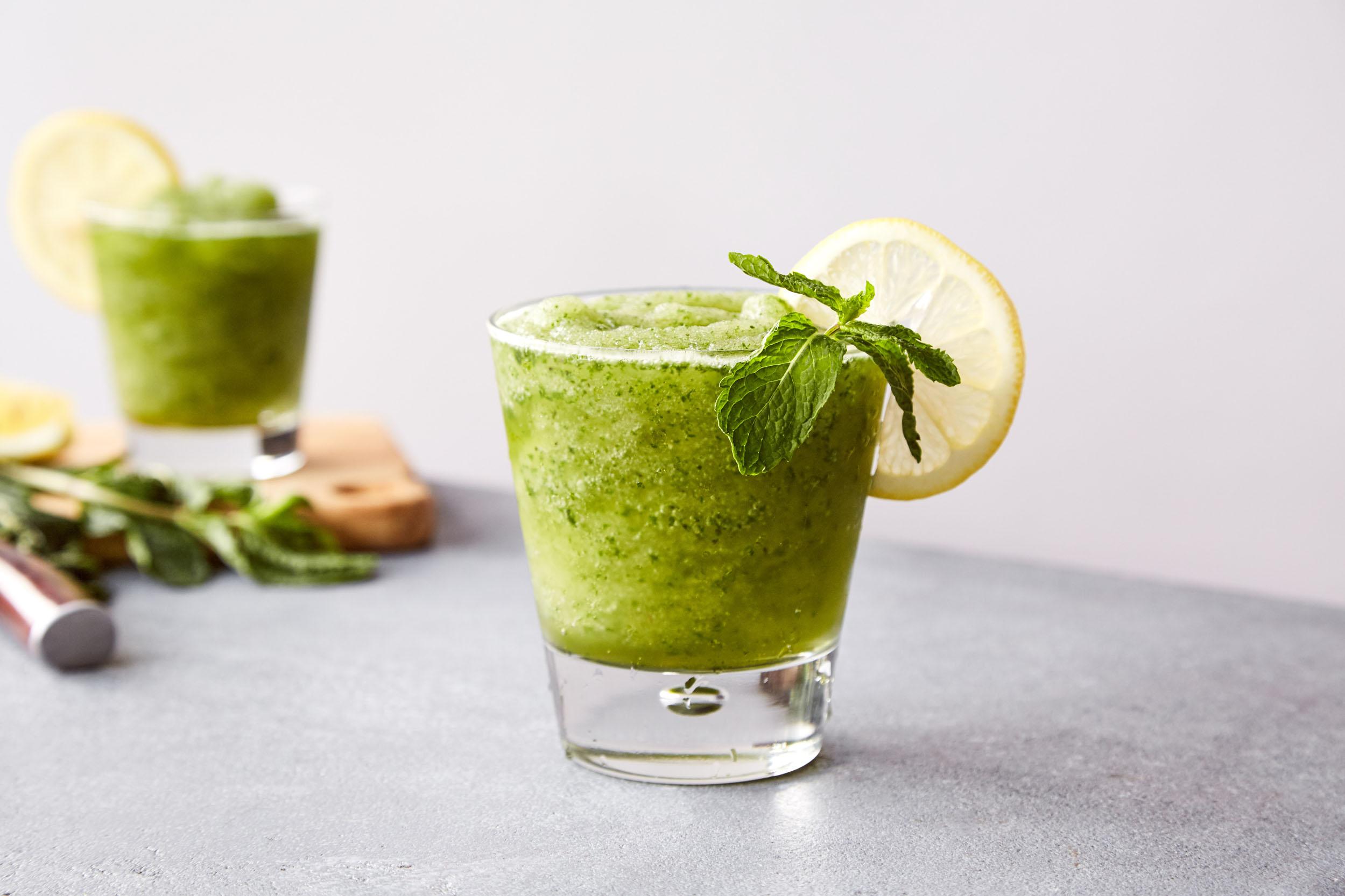 mint julep - Kelvin Citrus Slush Mix,Bourbon, Mint