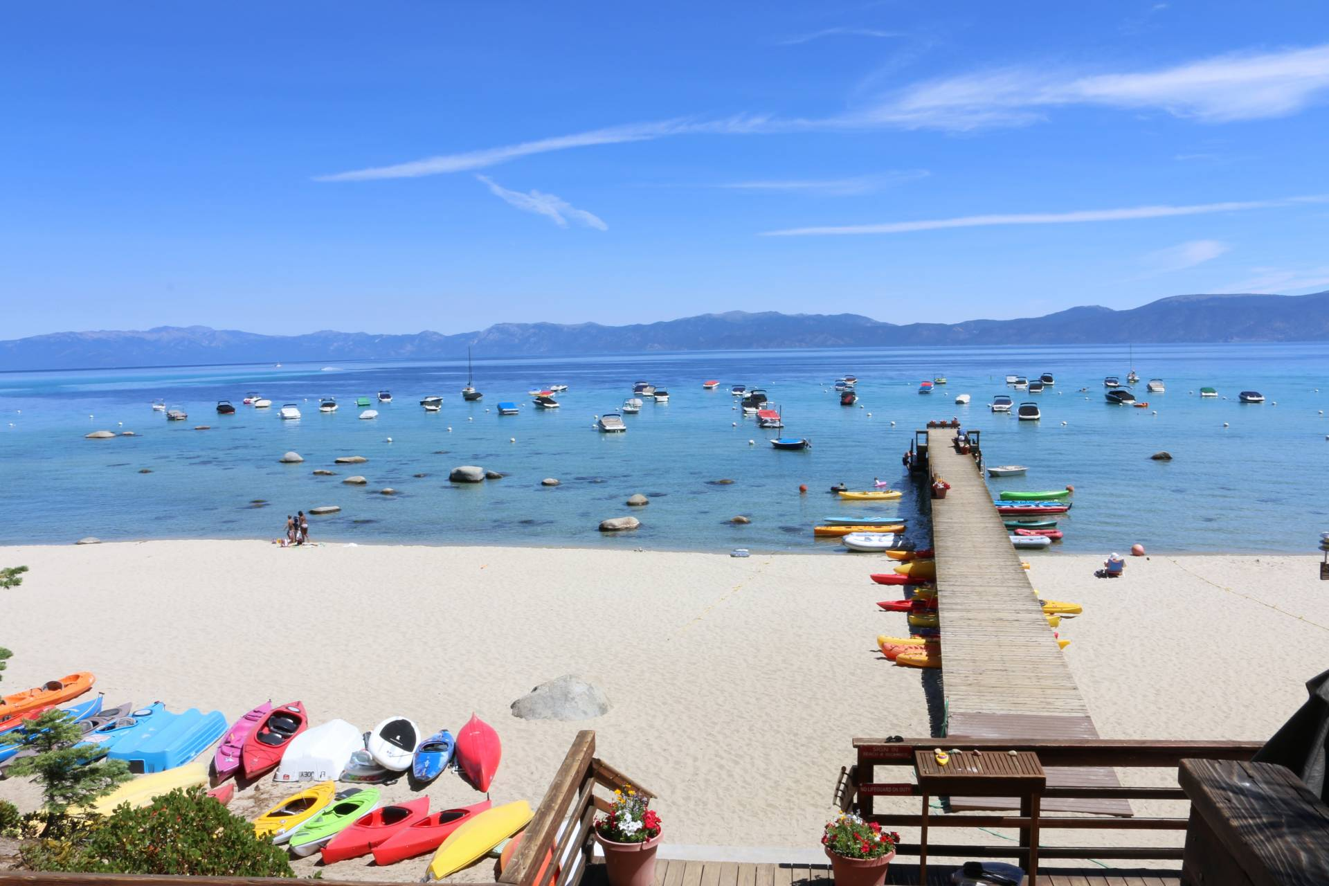 Rubicon Beach, Lake Tahoe CA in Summer