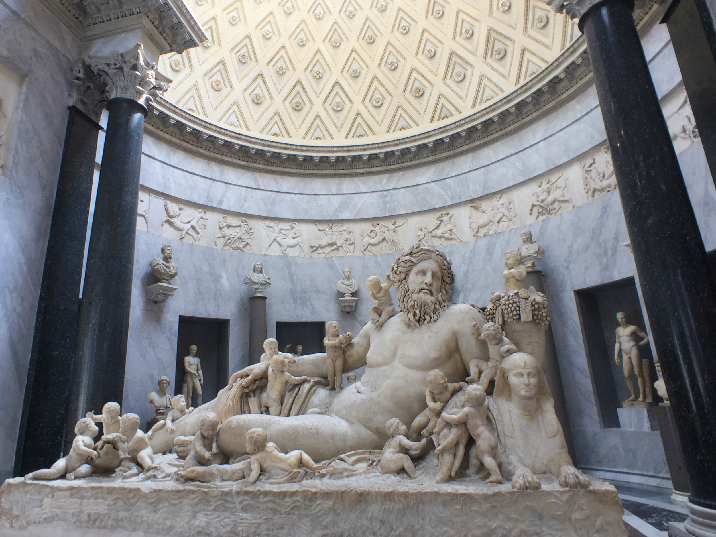 Touring the Vatican Museum, Spring Europe Trip 2017