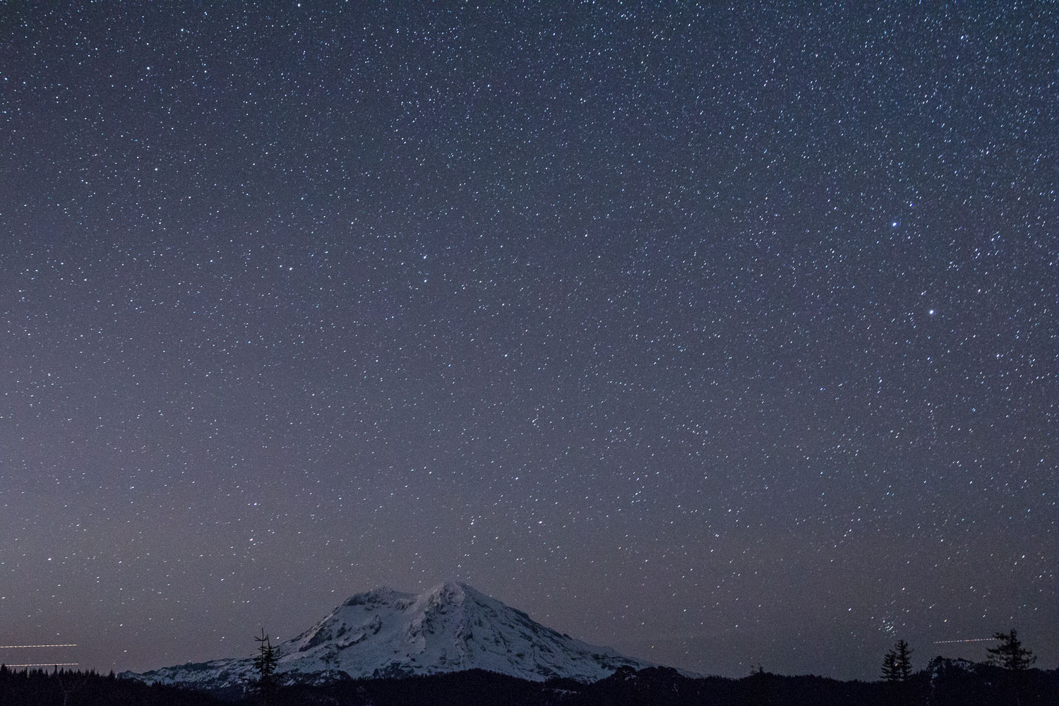 Clear skies give way for great astrophotography!