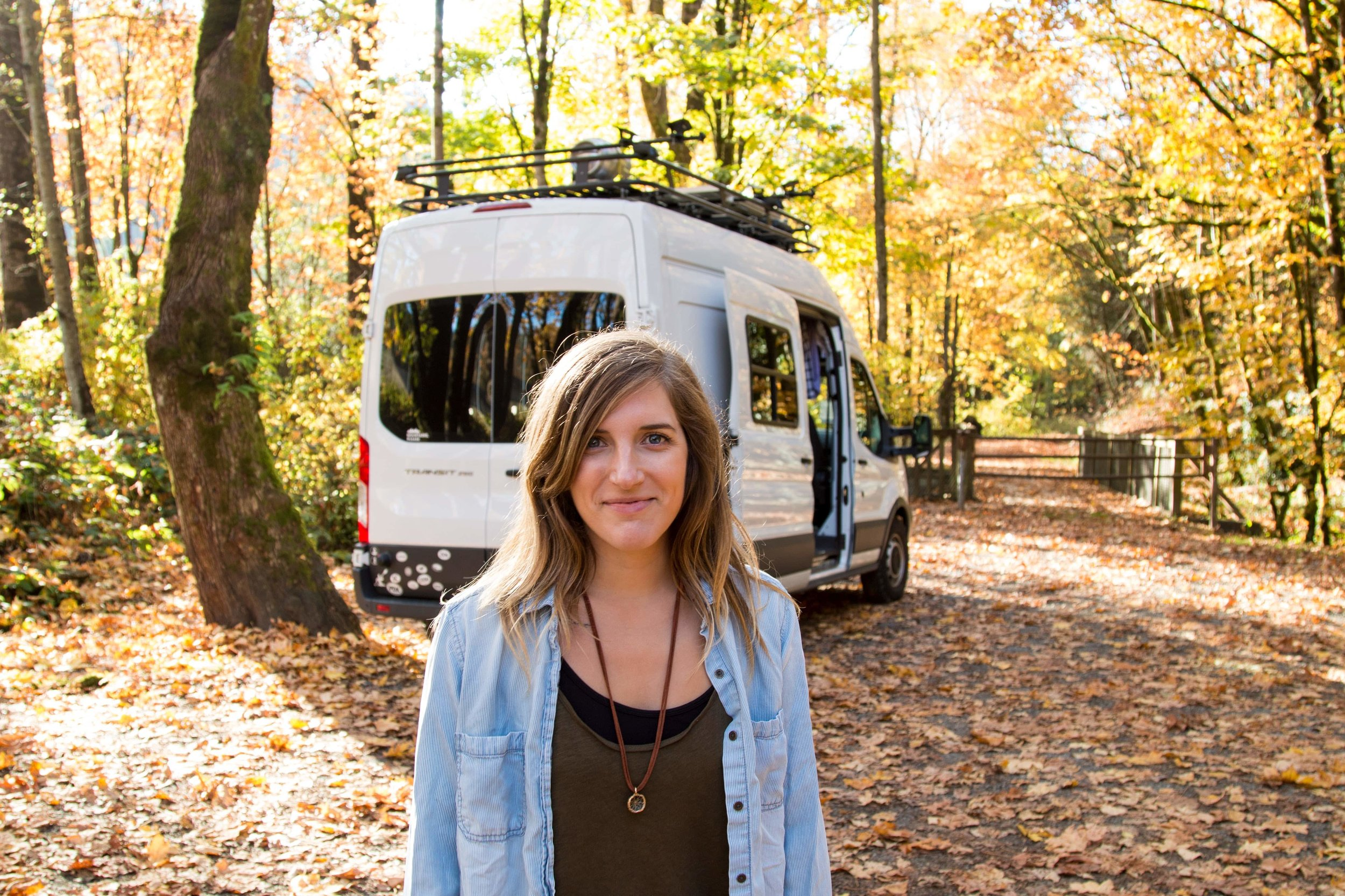 Laura / Podcast Host - Laura Hughes is a podcast host, photographer, writer, and full time traveler living on the road in her Ford Transit camper van.Here, she talks about how human stories influence her creativity, and why saying