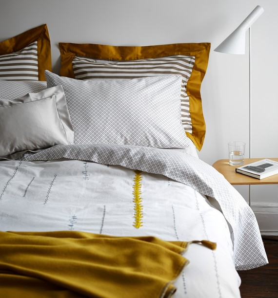 Coyuchi Linens - photo from WSJ