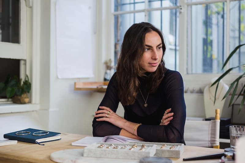 Tania Gnecchi | RUUSK - Tania's desire to create meaningful and intimate objects inspired her to launch RUUSK, a jewelry studio that crafts handmade heirlooms with recycled and mindfully sourced precious materials.
