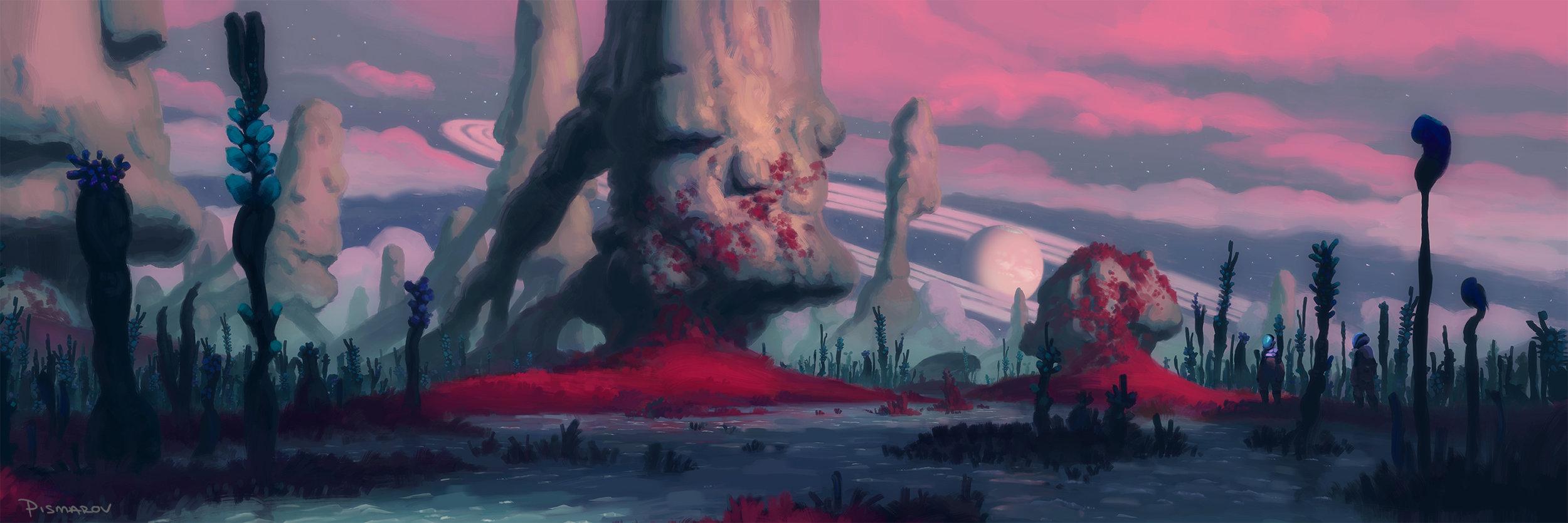 Pillars of the Twilight Bog