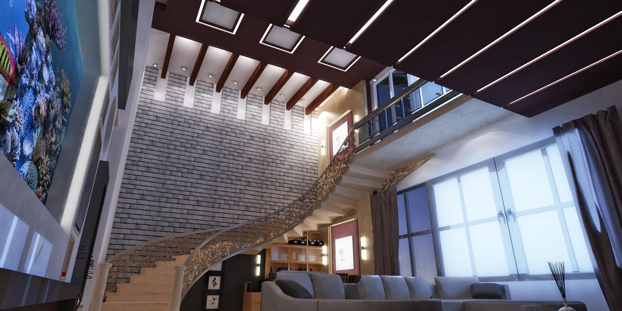 Interior Villa: Al harthy