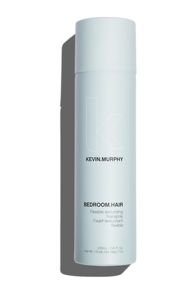 bedroom.hair $29 - BEDROOM.HAIR puts touchable texture, separation and movement into the hair, while still allowing you to run your fingers through from roots to tips.This lightweight finishing spray delivers flexible hold and touchable texture, helps enhance elasticity and suppleness for increased touchability, and protects against environmental stressorsThis is one of my all time favorite products!