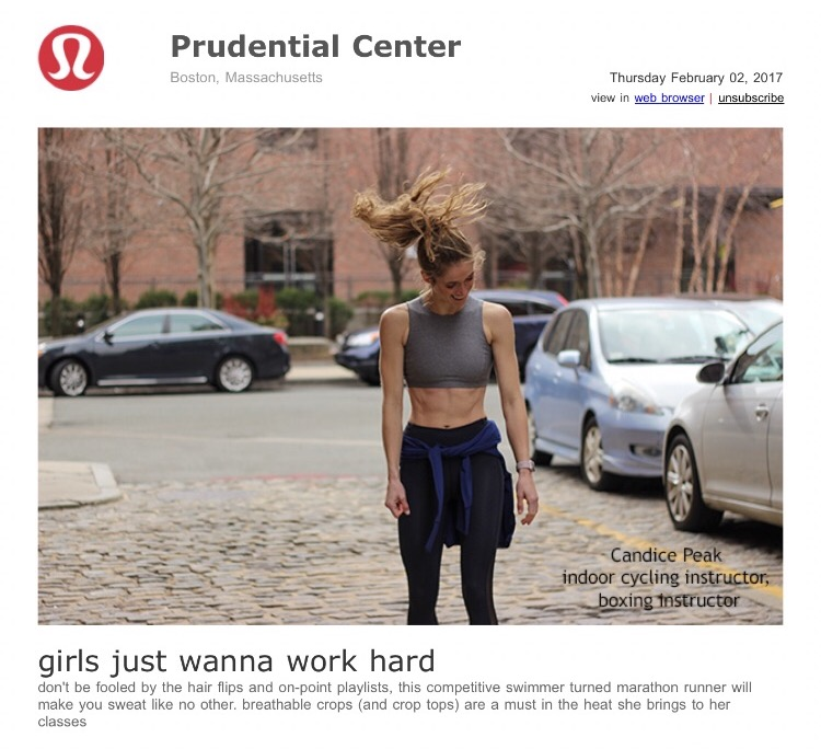 Lululemon Prudential Center February 2017