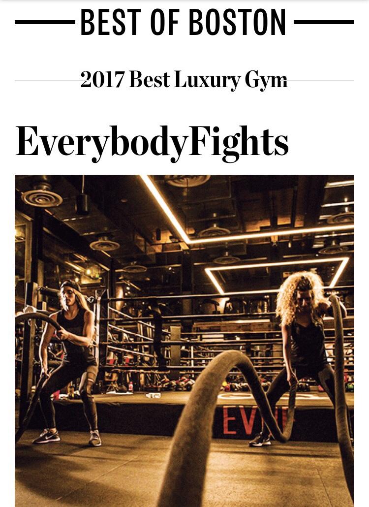 Boston Magazine, Best of Boston, July 2017