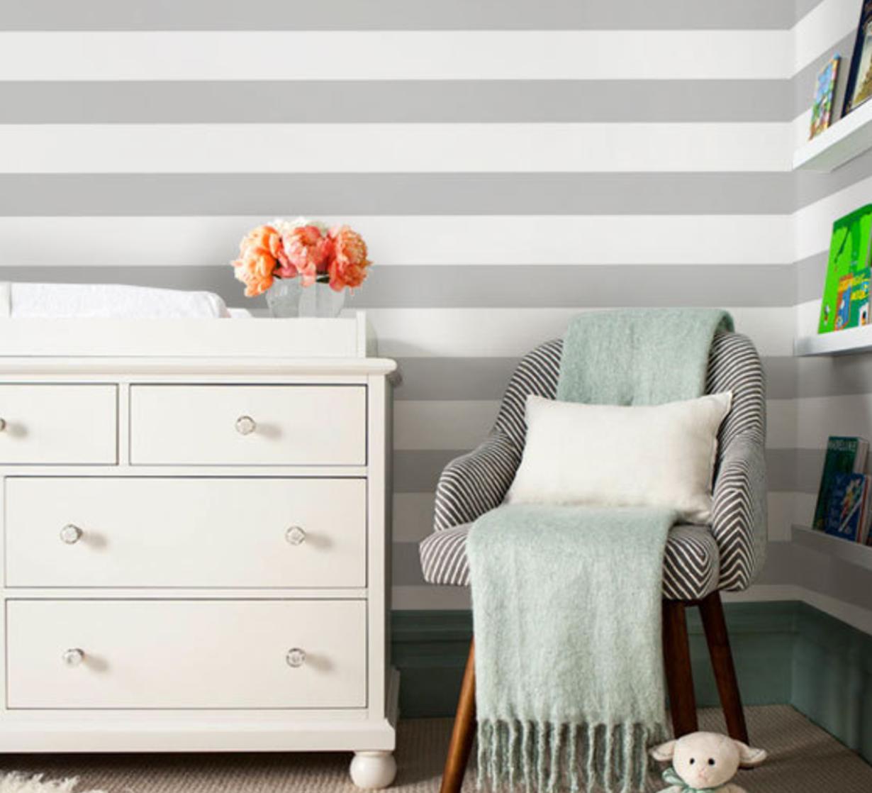 Gray Stripes Wallpaper