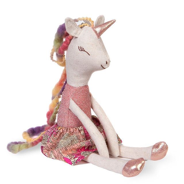 Make it a sunshiny-rainbow-unicorn type of day ☀️🌈🦄 * #sunshine #rainbow #unicorn #makeitagoodday #greatpretenders #unicorndoll #rainbowsandunicorns #girlgift #babydoll #firstdoll #birthdayparty #littlewhimsynursery