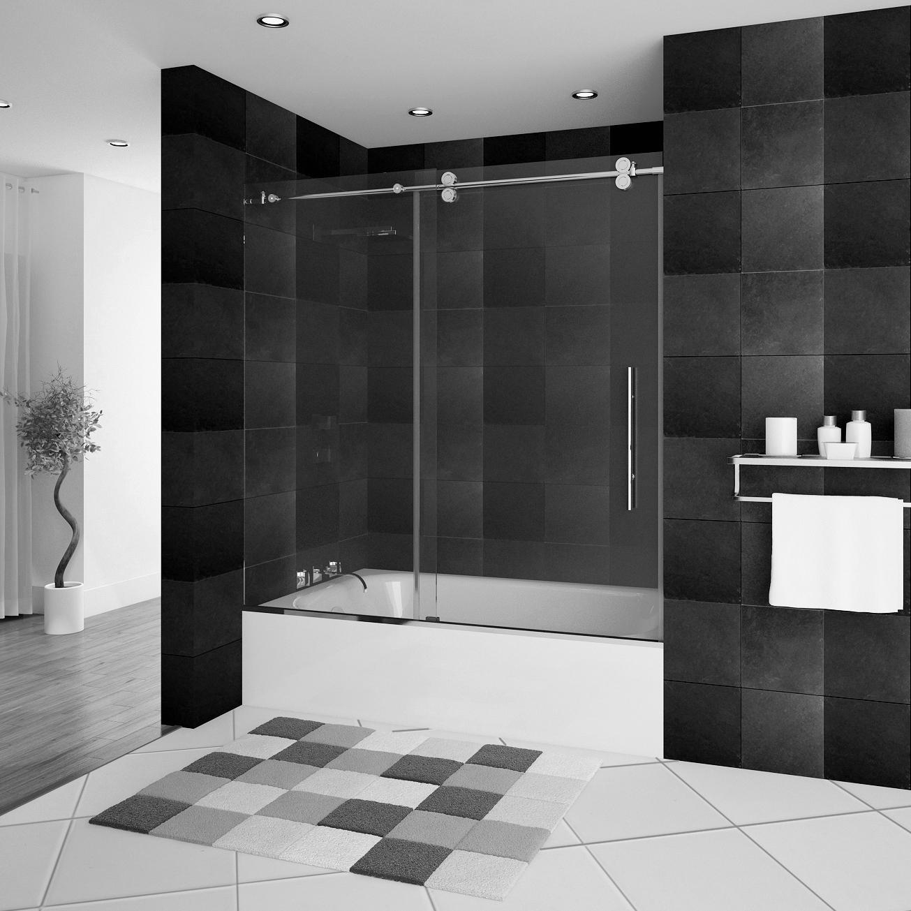 Bathtub Glass Enclosures - Learn More