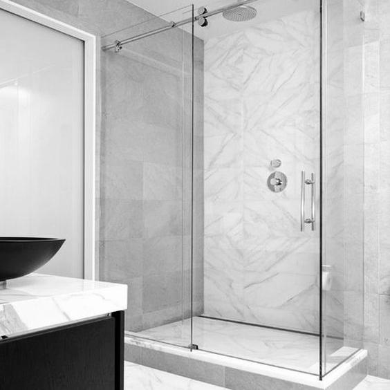 Frameless Glass Shower - Learn More