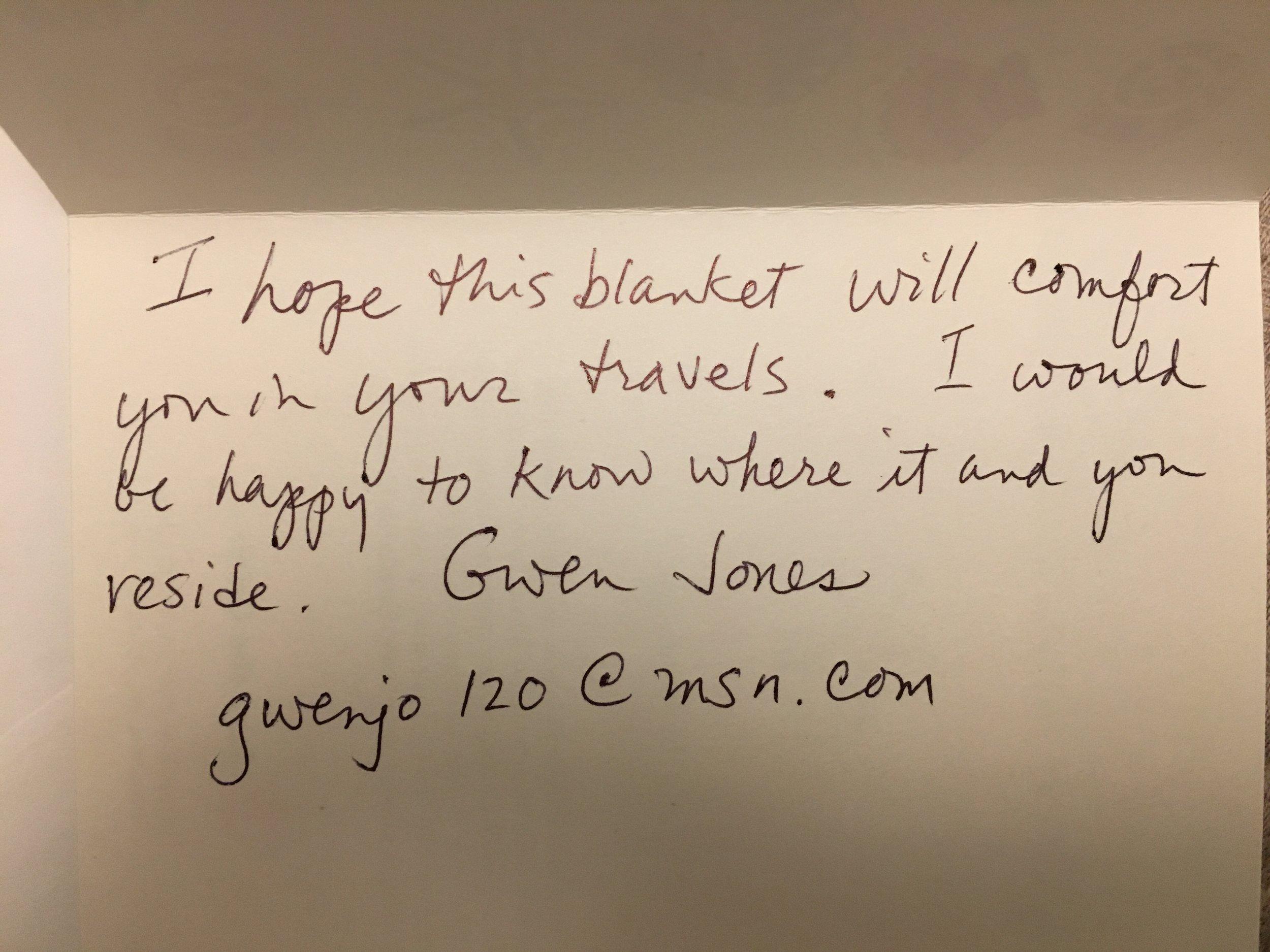 Gwen Jones - New York, NY