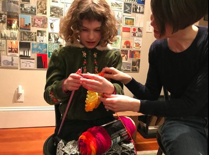 Brookline residents network while knitting for a cause - Wicked Local: Brookline