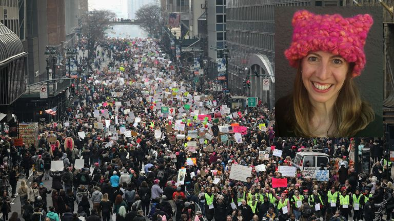 Pussyhat co-creator: Women's March NYC an opportunity to set new tone in demands for equality - AM New York