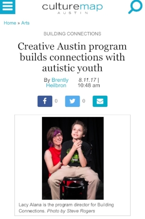 Creative Austin Program builds connections with Autistic Youth