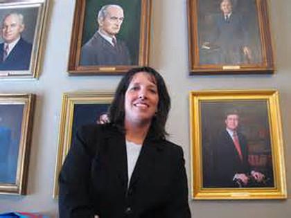 Mayor of Salem Kim Driscoll