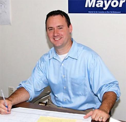 Mayor of Peabody Ted Bettencourt