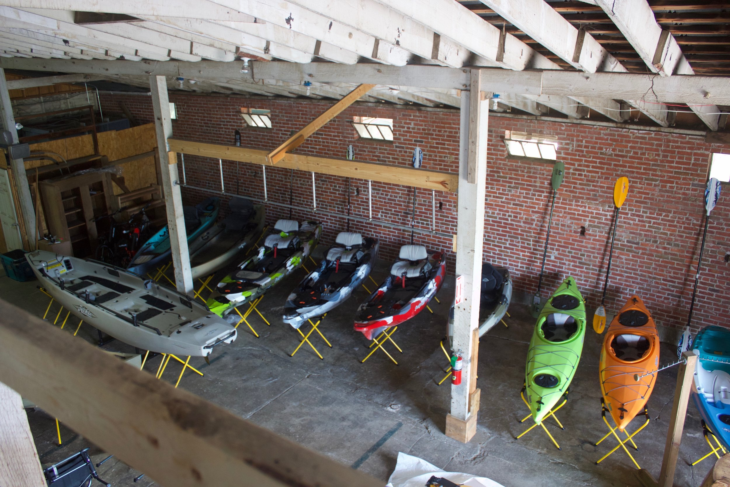 SY Wilson's sells everything, including kayaks.