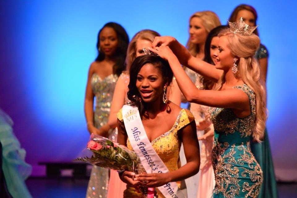 Miss Mid-South Teen Princess winner Desiree Dyson.