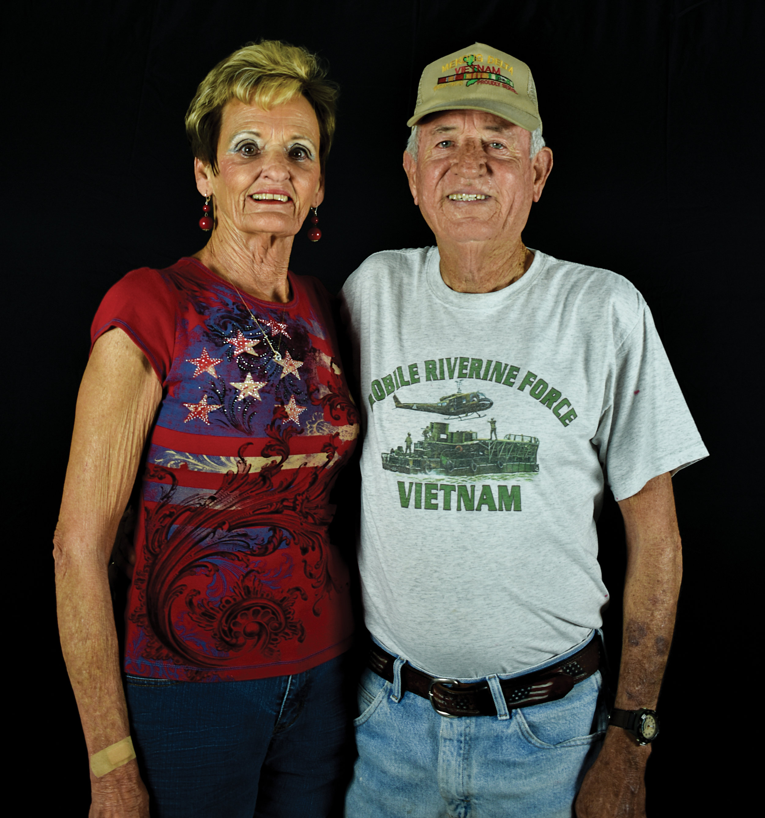 Mr. Ricky McDivitt, pictured with his lovely wife.