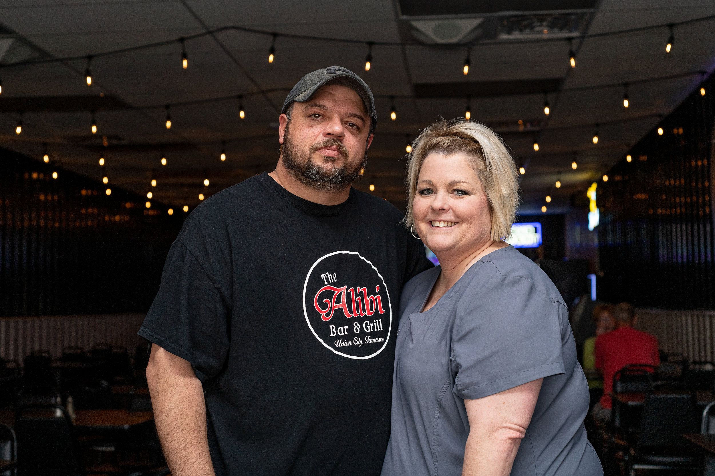 Owners Jason and Jenny Pickard