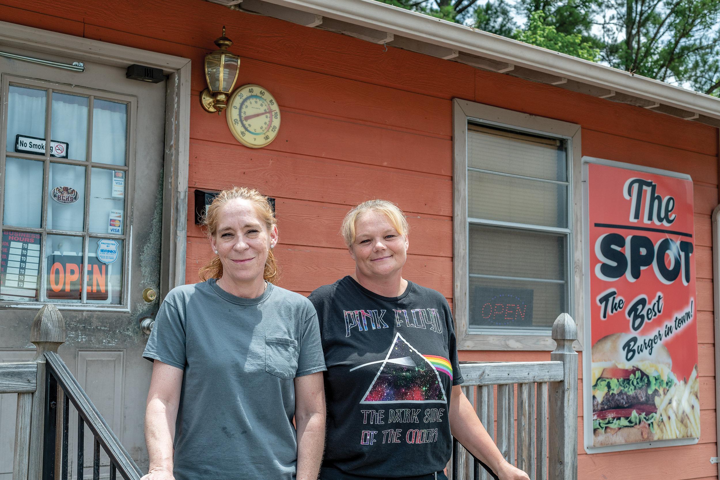 Dana Benson and her sister