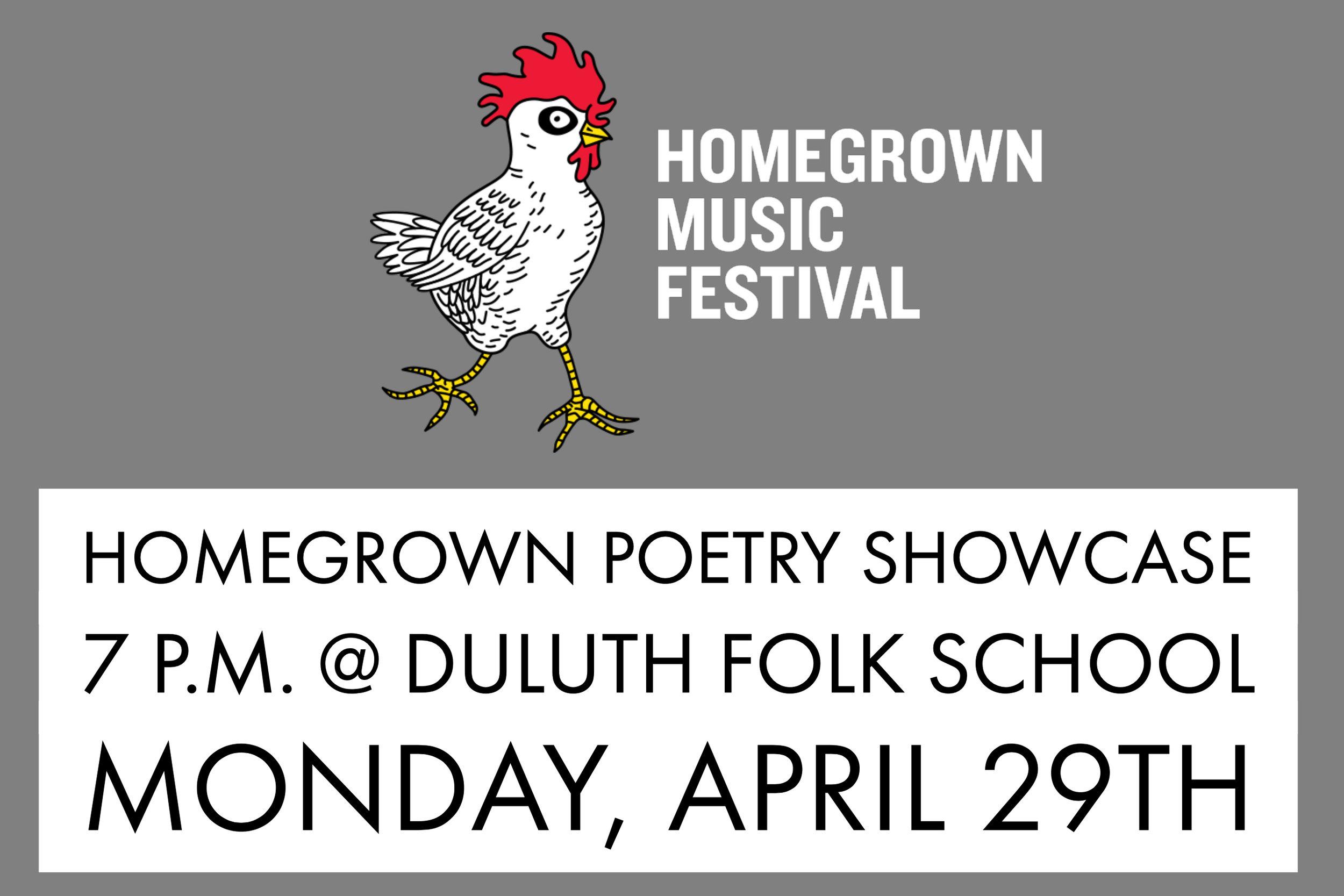 Alyssa Johnson - Homegrown Poetry Showcase - 2019 - Duluth, Minnesota