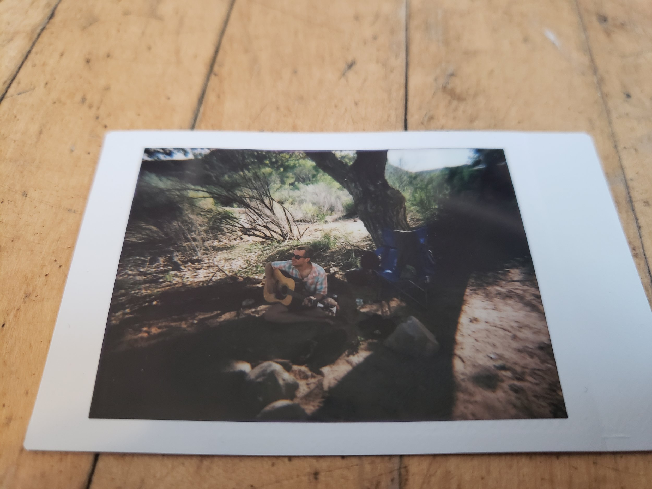 Utah 2019- Alyssa Johnson - Blind Spot Creatives - Photography - Zion National Park - Poloroid