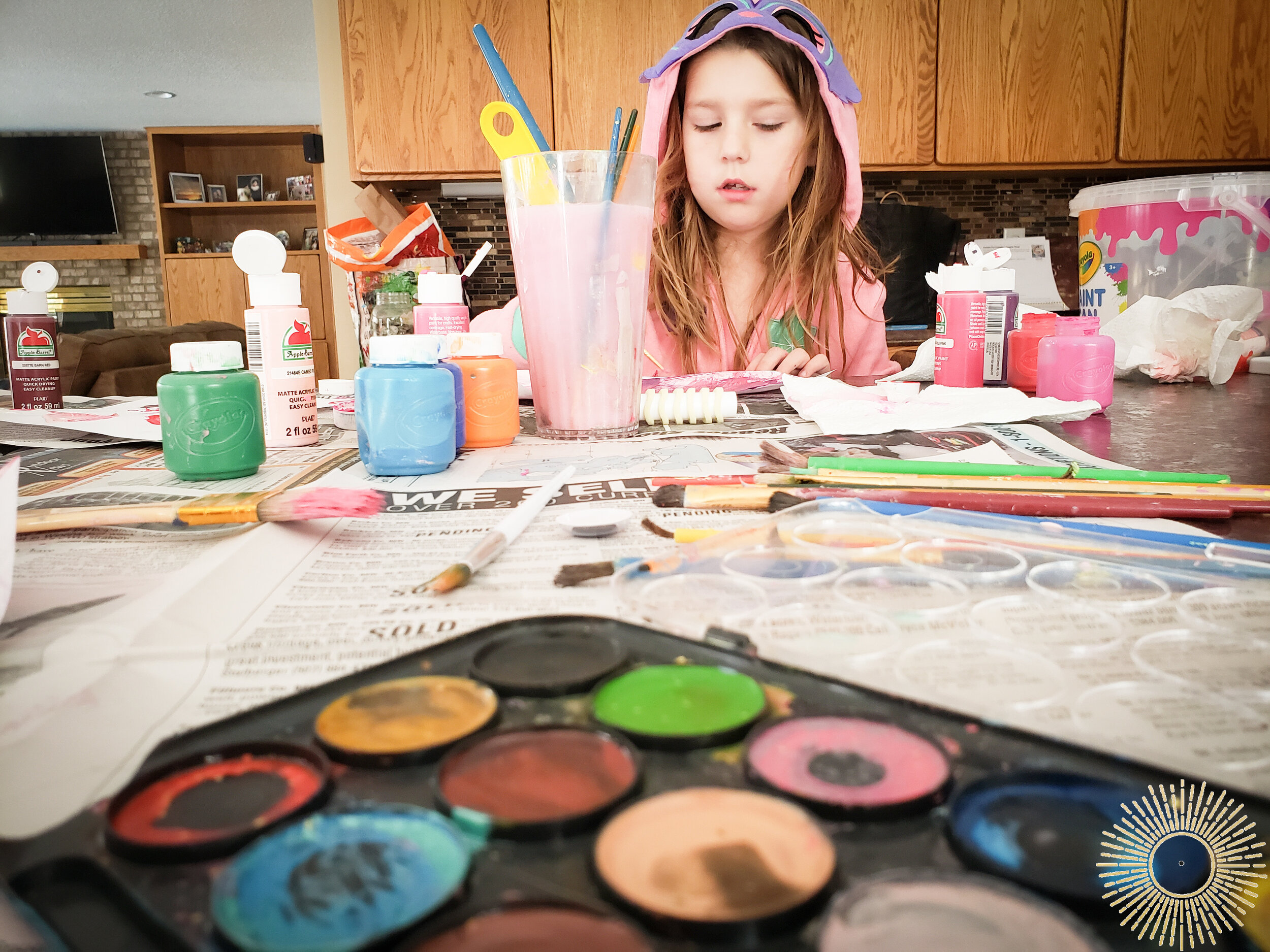 Avianna Painting- Blind Spot Creatives - Alyssa Johnson Photography & Writing - Duluth, Minnesota