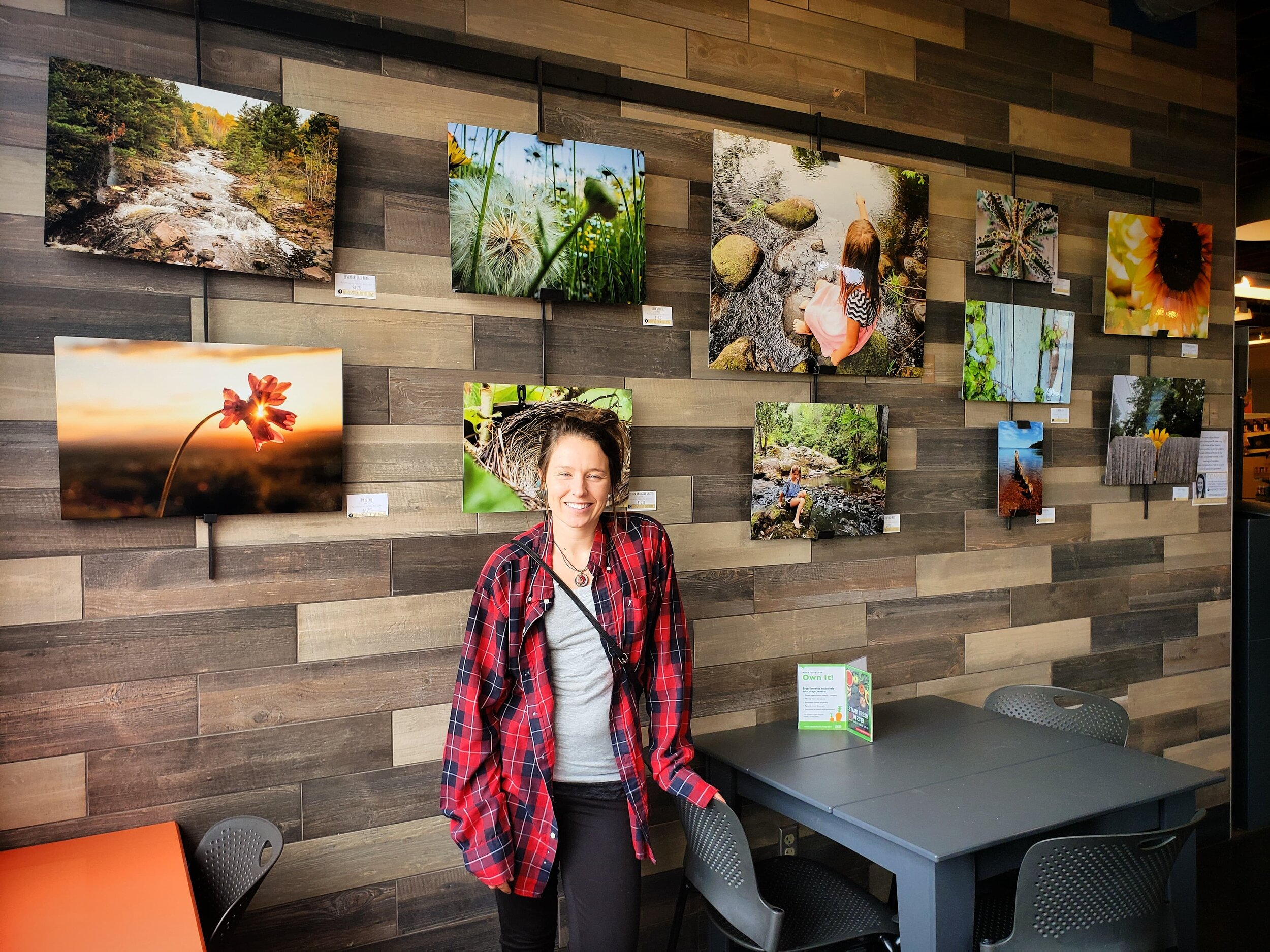 Alyssa Johnson - Photography - Duluth, Minnesota - Whole Foods Co-op - On Display