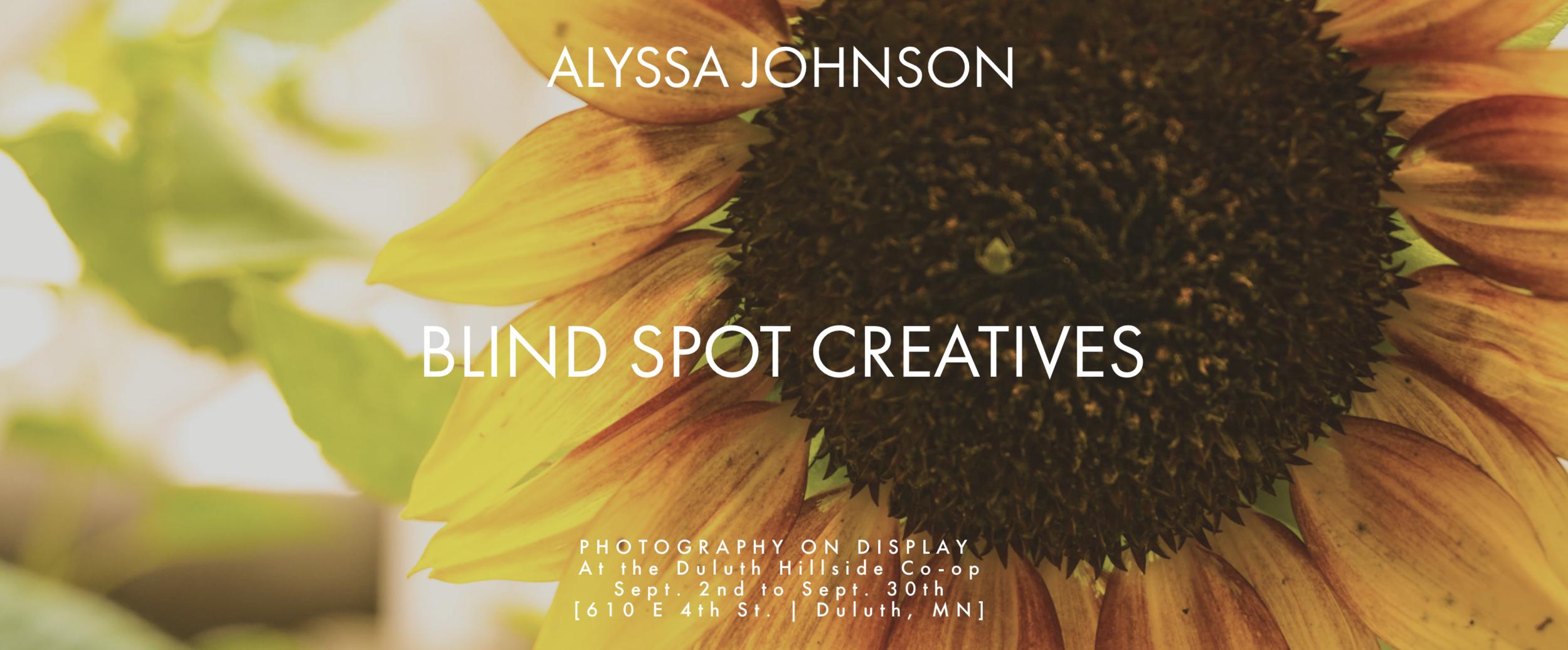 Whole Foods Co-op Duluth Minnesota - Artist & Photographer Alyssa Johnson- On Display - September 2019