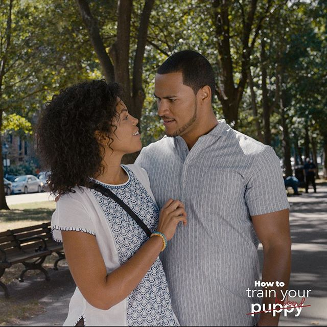You'll love @karlamose and @ahall382 in How to Train Your Puppy/Husband! Stream it on HallmarkNow!
