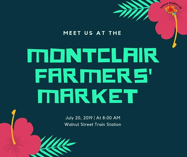 Stop by our table at the Montclair Farmer's Market on Saturday! We'll have cold waters and lots of bubbles. Hope to see you there! Montclair Farmers' Market