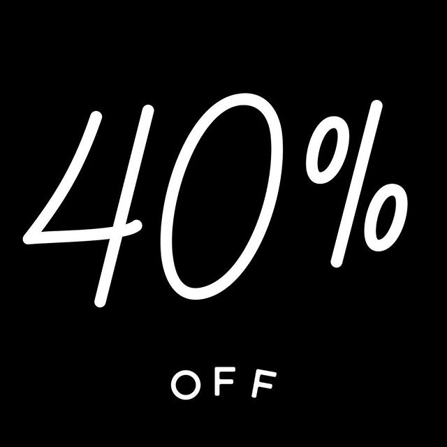 Happy New Year! 🎊 To celebrate the new year, we are offering 40% off our entire online store and FREE SHIPPING! Use code: NEWYEAR at check out! 🖤 Link in bio. #sale #happynewyear #onlineboutique #shoppnline