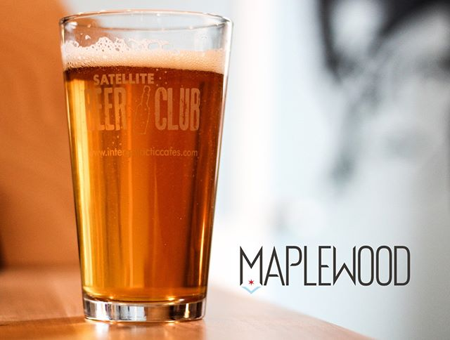 We're so pleased to announce the good folks of @maplewoodbrew will be hosting our next Beer Club meeting on Friday, May 24th at 7:30pm!  Purchase a ticket in-store or by calling 773-944-0152 (7am-2pm everyday, 7-10pm Fri & Sat). ✌️ ❤️ 🛰  #drinkwithneighbors #craftbeer #craftbeerchicago #Chibeer #midwestbeer #supportlocalbeer #chicago #cafe #coffee #coffeetime #chicoffee #chicagocoffee #eaterchicago #eatdrinkdochi #chitribfood #chicagocafe #chicityfoodie #chicagofood #supportlocalbusiness #shopsmall #smallbusiness