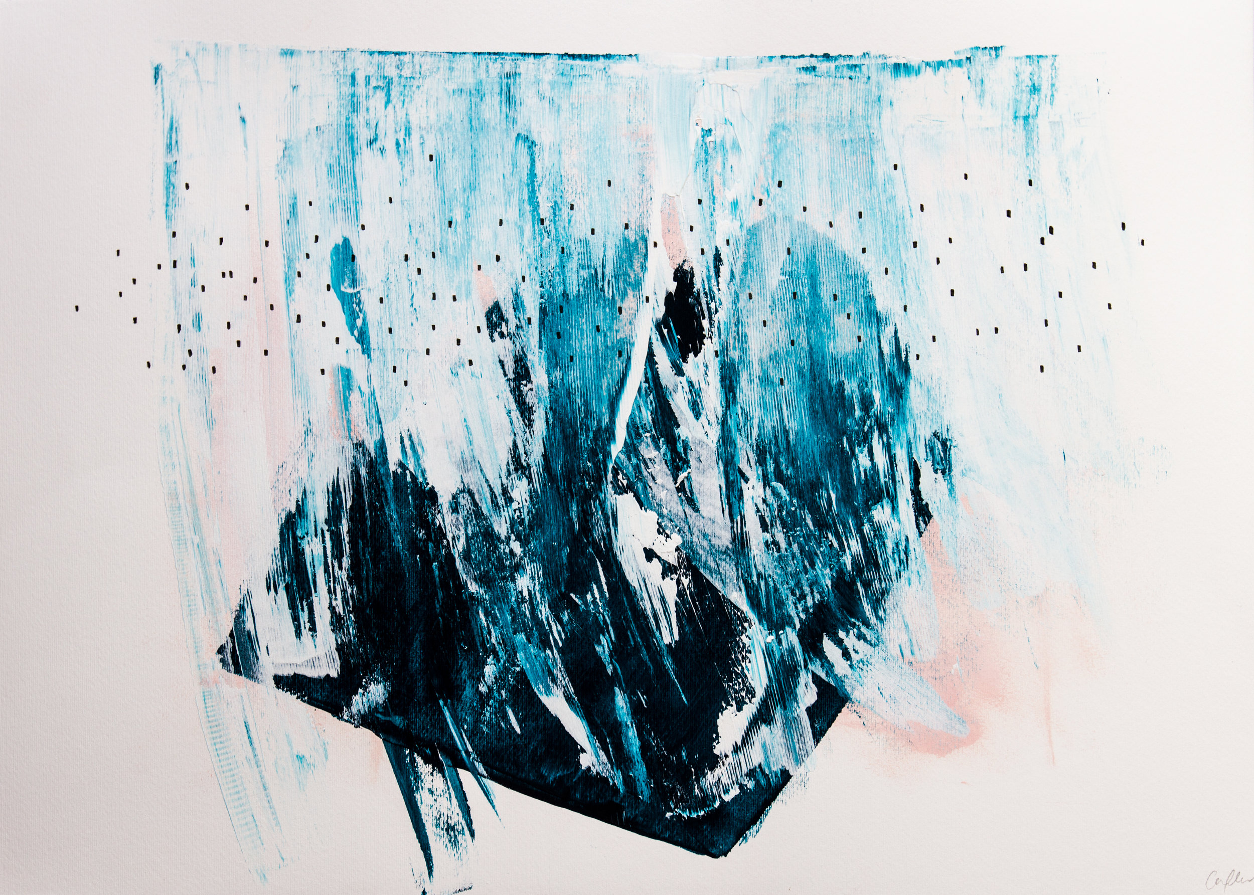 23.11.17 - LOGBOOK ENTRY 6: TALKING INSPIRATION WITH CHARLOTTE A FLEUR  Charlotte is an abstract artist living and working in North London. Her works explore colour and how intuition can influence mark-making and composition....
