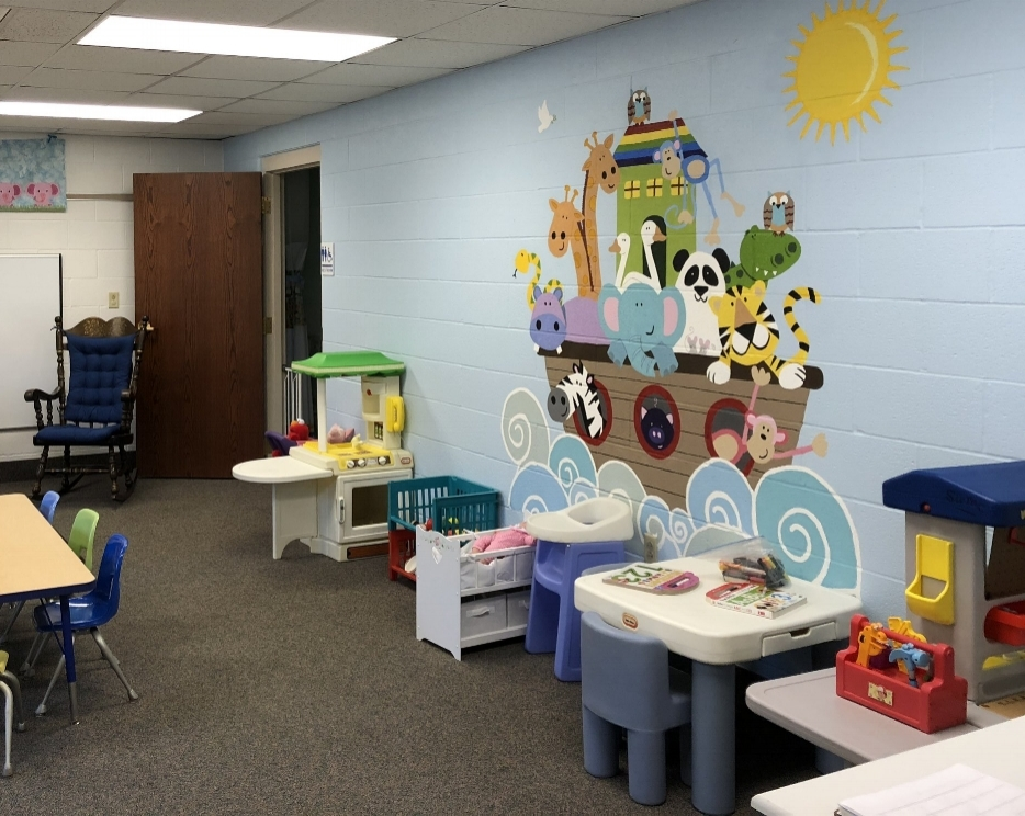 Our children's nursery - newly remodeled.