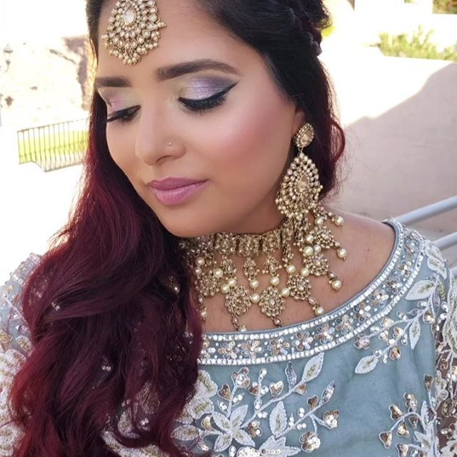 South Asian Weddings are our Jam! Four hours and 34 services later.. you can say our girls crushed it today!