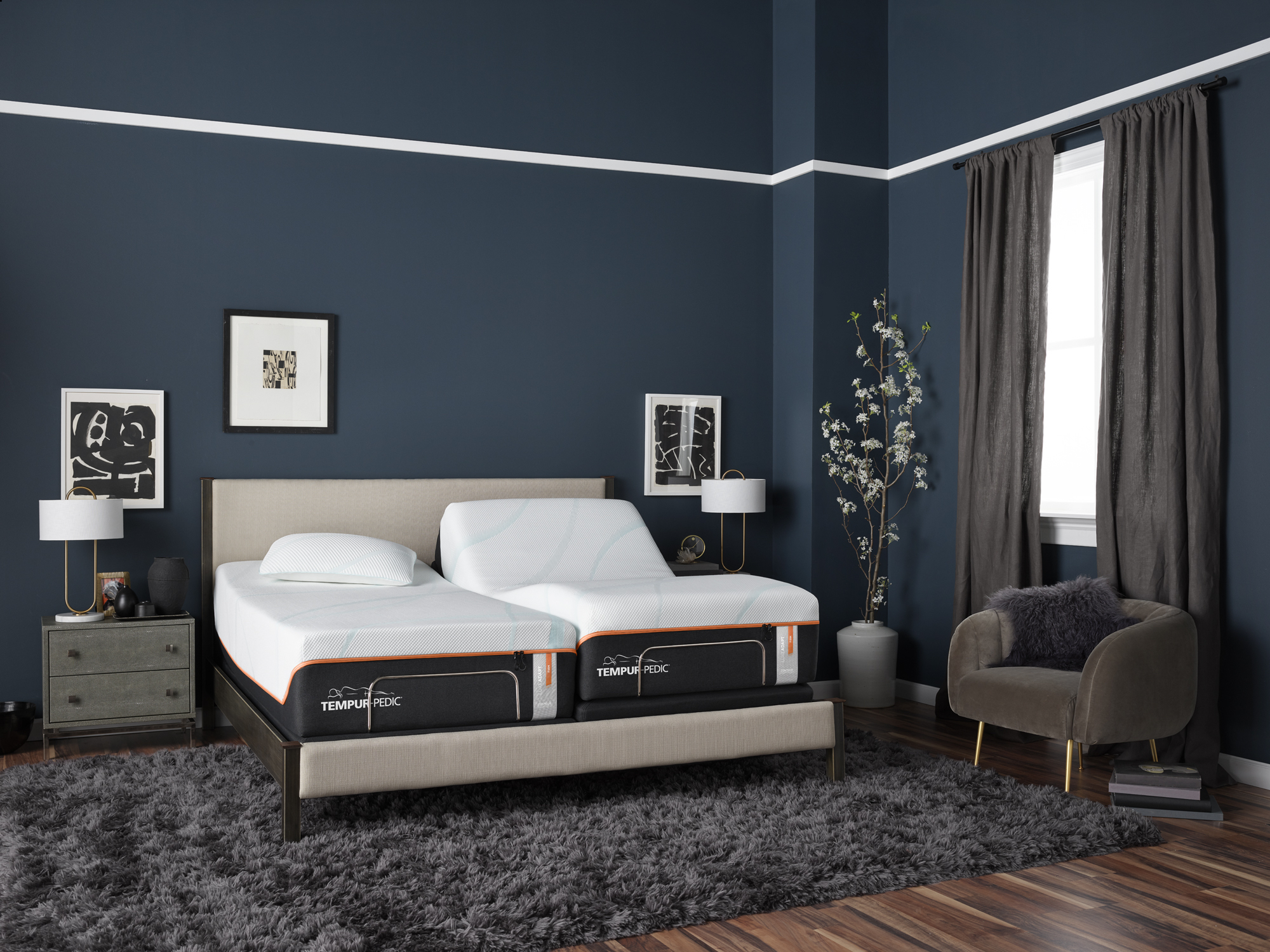 TempurPedic - Years of research have led to the unique feel and benefits of the TEMPUR-PEDIC. Carefully developed TEMPUR material responds to your weight, body heat, and shape to give you a personalized sleep experience that will change your nights and your mornings.Shop our TEMPURPEDIC Collection