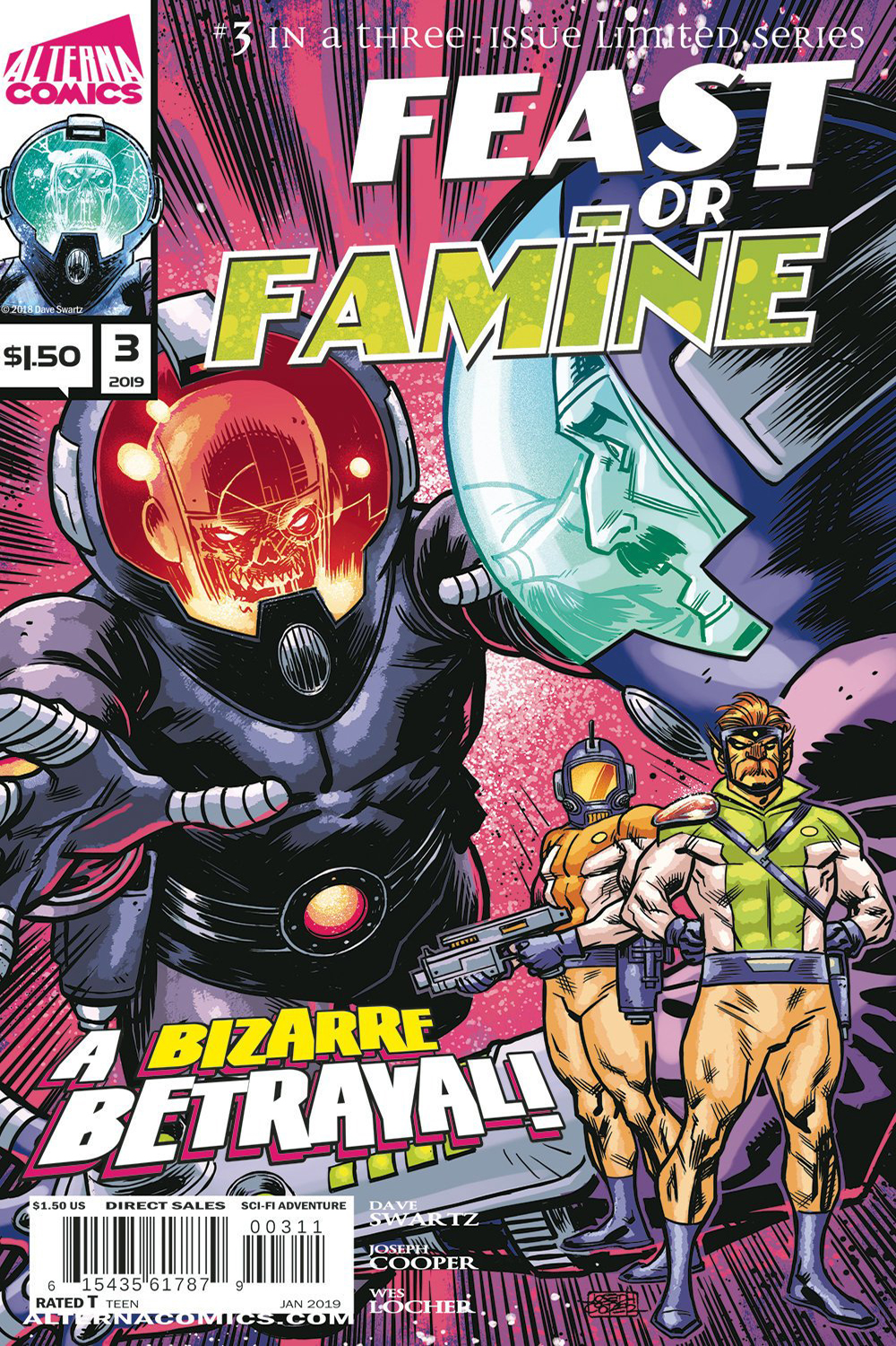 Feast or Famine Issue #2 Cover - Feast or Famine Comic